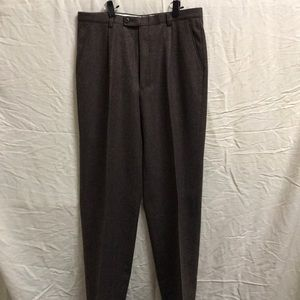 Mani by Armani Italian Wool Pants Brown 33 x 31